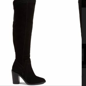 Vince Camuto Madolee Over the Knee Boots in Black